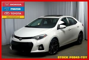 2014 Toyota Corolla S / CUIR / TOIT OUVRANT