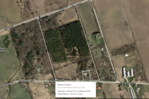 Beautiful Land for Sale in Quinte West - 37.5 Acres