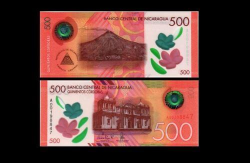 NICARAGUA 500 CORDOBAS 2019 YEAR P NEW UNC
