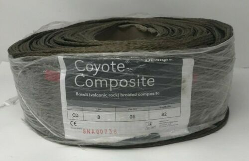 "Coyote Composite Basalt Braided Composite Type B 6"" By 82"