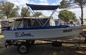 Ideal River or Lake Fishing Boat, ideal size for teenage fishing Delahey Brimbank Area Preview
