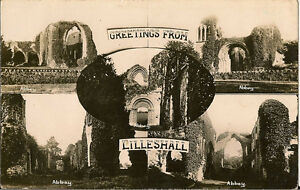 LILLESHALL-Shropshire-Abbey-Greetings-Multiview-RP