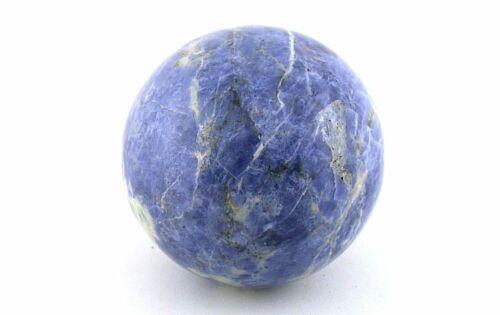 66.5mm 2 3/5 Inch 390.6 Gram Sodalite Sphere Crystal Ball Natural Gemstone S2