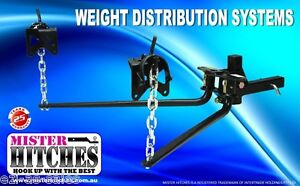 275KG (600LB) WEIGHT DISTRIBUTION SYSTEM - HITCH TOW BAR CARAVAN TRAILER KIT