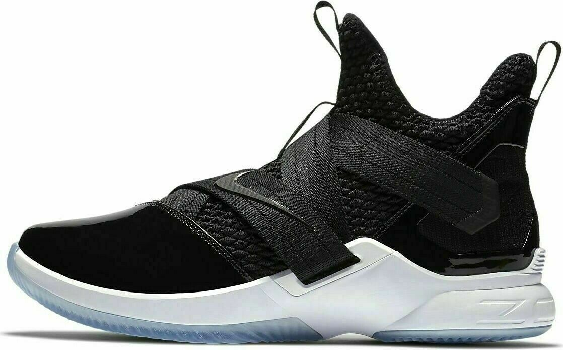 best service 4c6a7 1bfea Nike Lebron Soldier XII SFG Basketball Mens Shoes Black AO4054-005
