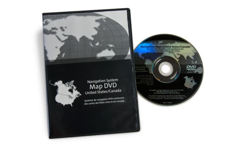 2011 Buick Enclave Navigation Disc Map Update