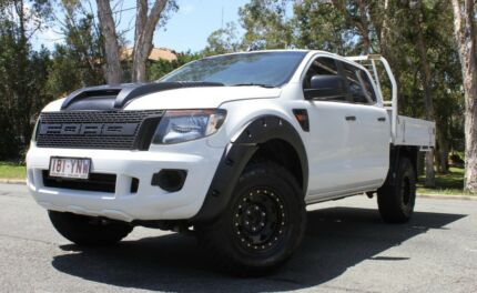 2012 Ford Ranger PX XL Utility Double Cab 4dr Spts Auto 6sp 4x4 3 Southport Gold Coast City Preview
