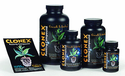 - Clonex Rooting Compound Gel 15mL / 100mL / 250mL / 1 Pint cloning clone rooting