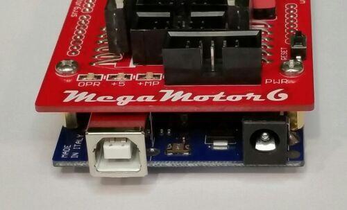 Rhino Robot Arm Controller - Open Source - MegaMotor6 - See Video