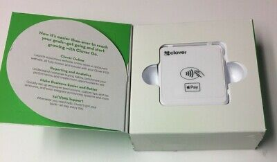 Unlocked First Data Clover Go Emv Nfc Bluetooth Mobile Credit Card Reader