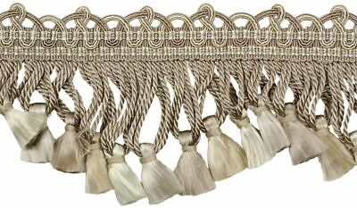 "HOULÈS Tassel Fringe 76 mm (3""), Les Marquise 33271-9820 Luxury Trimming"
