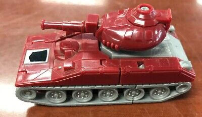 Transformers G1 Warpath Red Tank Vintage Minibot 1984 Hasbro Takara