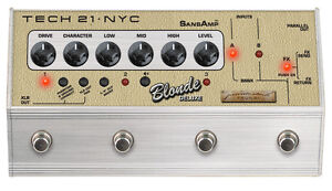 Tech 21 Private Stock Blonde Deluxe SansAmp Character Series