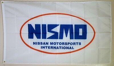 Nissan Flag Banner 3x5 ft Japanese Nismo Motorsport Car Racing Black
