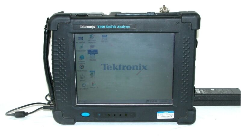 Tektronix Y400 NetTek Analyzer YBT250 YBA250 Virtual CE