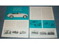 MG FACTORY 1929-1979 ABINGDON ON THAMES ORIGINAL JUBILEE PATCH MMM MGB MGC T S V