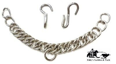 English Style Hook Curb Chain w/Hooks New Free Shipping