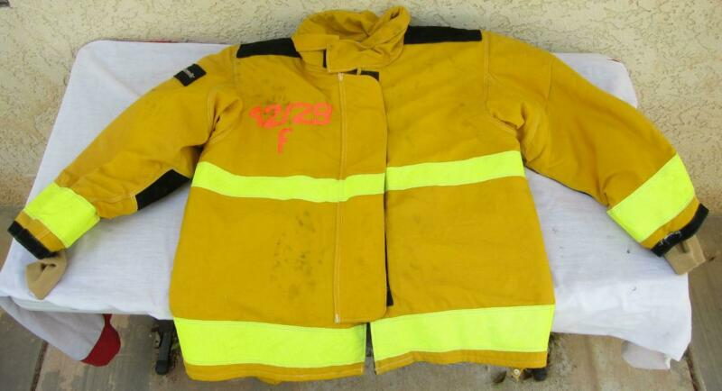 Lion Janesville Firefighter Fireman Turnout Gear Jacket Size 42.29.R F -[D] (M1)