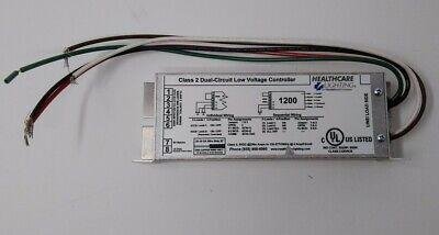 Healthcare Lighting 1200 Class 2 Dual-Circuit Low Voltage Controller Light Control Circuit