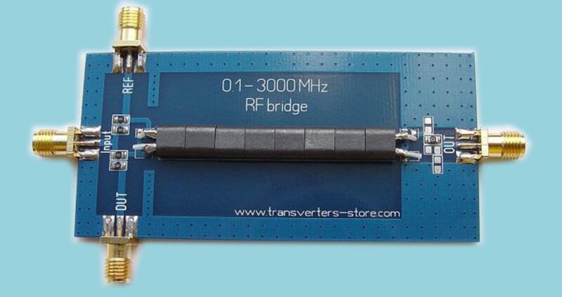 RF SWR Reflection Bridge 0 1-3000 MHZ Antenna Analyzer VHF UHF VSWR return  loss | PolyBull com