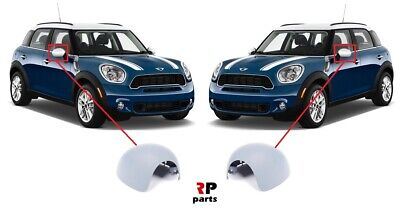 FOR MINI COUNTRYMAN 10-16 WING MIRROR COVER CAP POWERFOLD LEFT N//S