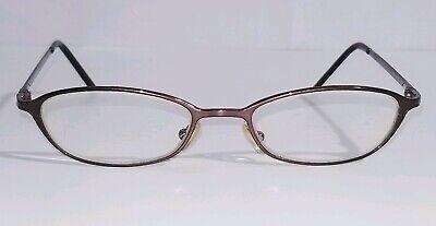 Ralph Lauren Womens Eyeglasses Italy RL1318 48-17-130 Gold Bronze Polish JH9