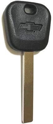 NEW GM REPLACEMENT TRANSPONDER CHIP Chevy BowTie Logo KEY BLANK B119-PT, B121-PT
