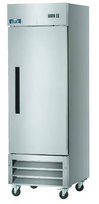 Arctic Air Ar23 1 Door Stainless Steel Commercial Reach-in Cooler Refrigerator