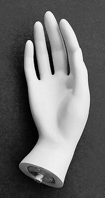 Mn-handsf-qs White Right Female Mannequin Hand Jewelry Display White Only