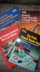 4 Model Railway / Toy Train Books - All for one Price