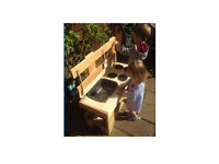 Mud kitchen - outdoor messy toddler child play