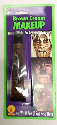 Halloween Brown Cream Makeup Special Effect Theatrical Werewolf Pirate Facepaint - Werewolf Face Paint Halloween