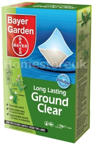 Bayer Garden Long Lasting Ground Clear Soluble Sachet Weed