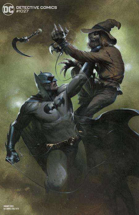 DETECTIVE COMICS #1027 NM COVER  I DELL OTTO BATMAN SCARECROW 9/15 PRESALE
