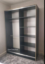 💥💯HUGE 50% OFF 2 AND 3 DOORS SLIDING WARDROBES WITH FULL MIRRORS, SH