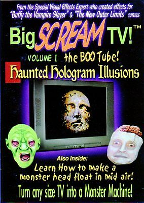 BIG SCREAM TV VOL. 1 THE BOO TUBE: VIRTUAL HALLOWEEN HAUNTED HOLOGRAM ILLUSIONS!](Halloween Holograms)