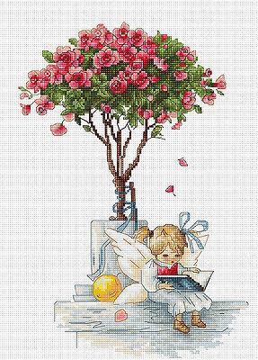 The Roses Cross Stitch Kit