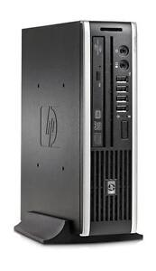 Mega Solde: Ordinateur HP 8000 Elite Ulra Slim Intel Core 2 Duo Memoire 4GB 160GB Win 7