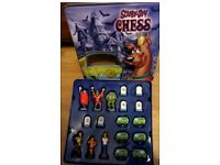 SCOOBY DOO CHESS SET BOARD GAME CARTOON NETWORK COMPLETE