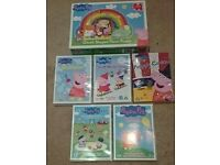 Peppa Pig DVD's and Jigsaw Puzzle