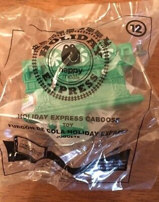 Holiday Express Train Car Mcdonalds Happy Meal Toy  12 Caboose 2017 Nip