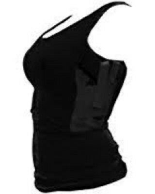Tagua Tactical Woman Black Spandex Holster Tank Top WOTAN-L-001