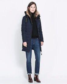 zara new coat jacket size M