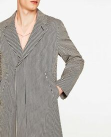 ZARA Man's Coat size S. Studio Collection NEW.