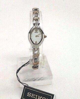 Seiko Women's SUJD27 Two-Tone Diamond Accent Watch