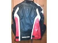 Richa Red/Black/White Leather Jacket &Trouser's