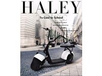 electric scooter bike motorbike harley chopper 2000w 60v 24ah suspension hydrolics brand new UK