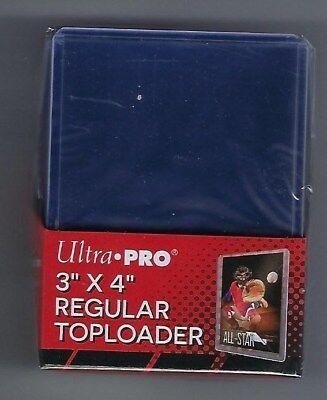 1000 Ultra Pro 3x4 Sports Card Toploaders