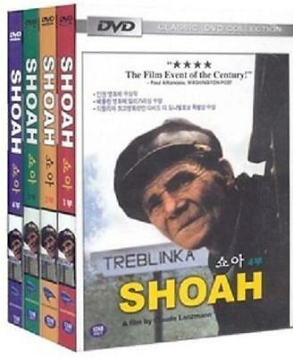 SHOAH (1985) 1-4 Full DVDs Boxed Set - Claude Lanzman (New & Sealed)
