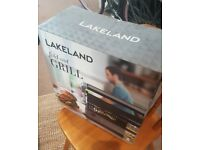 Lakeland fold-out grill - BRAND NEW IN BOX